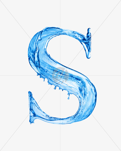 Water S uppercase