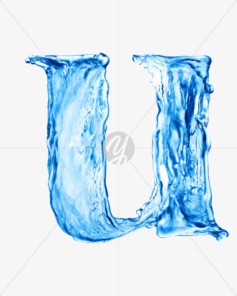 Water u lowercase