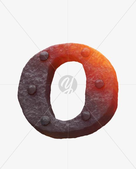 Iron O uppercase