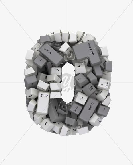 0 white keyboard