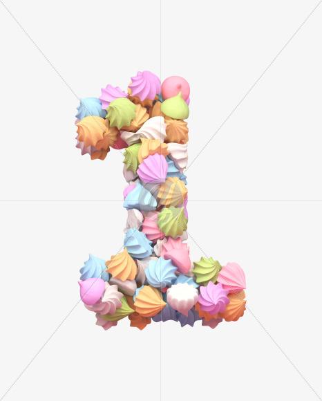1 meringue