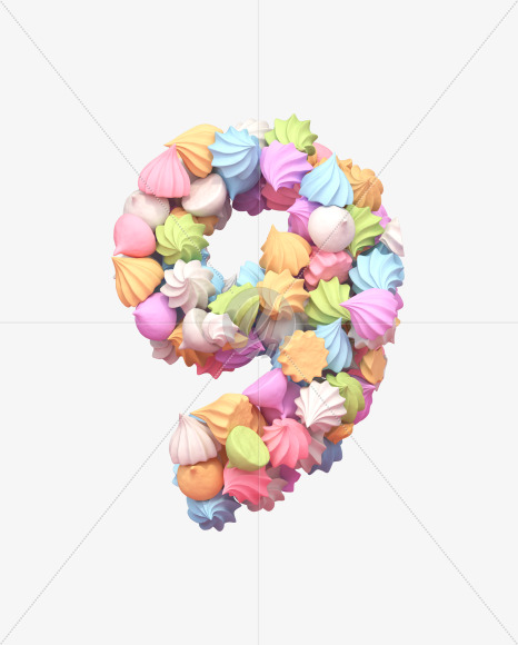 9 meringue