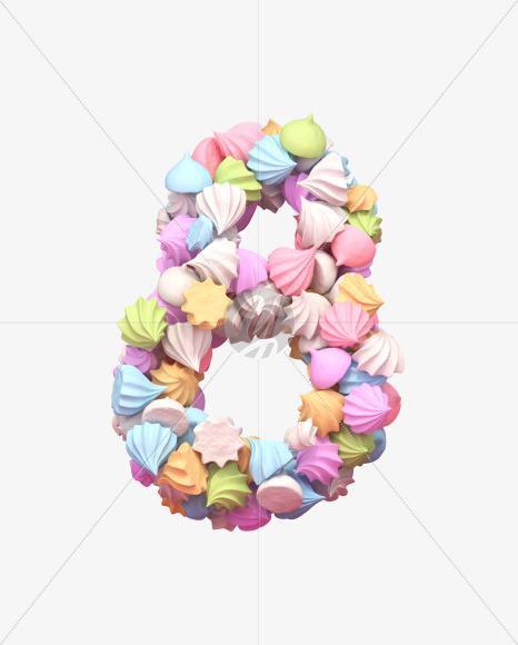 8 meringue