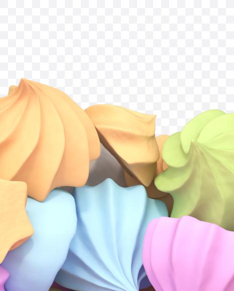 7 meringue