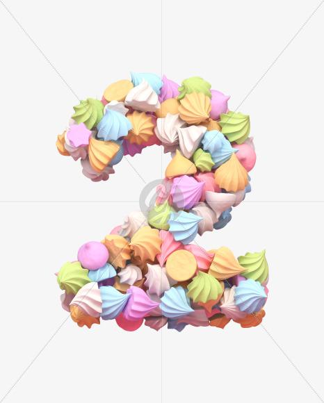 2 meringue