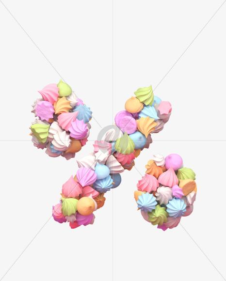 percent meringue