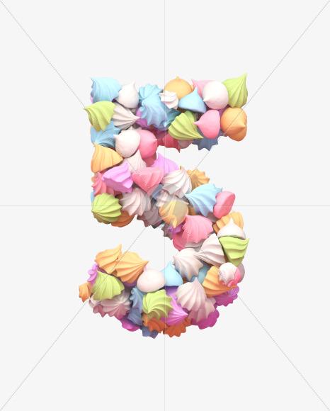5 meringue