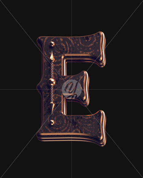 E lowercase 1