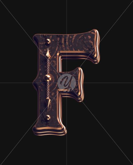 F lowercase 1