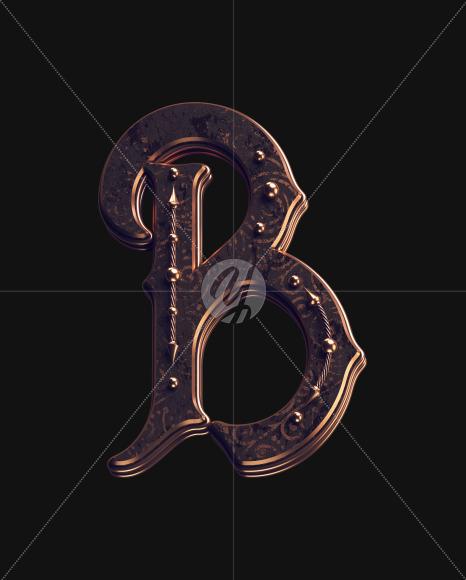 B uppercase