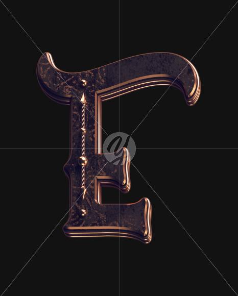 E lowercase 2