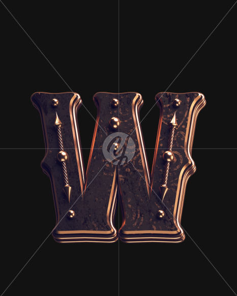 W lowercase 1