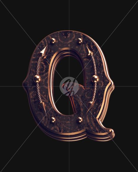 Q lowercase 1