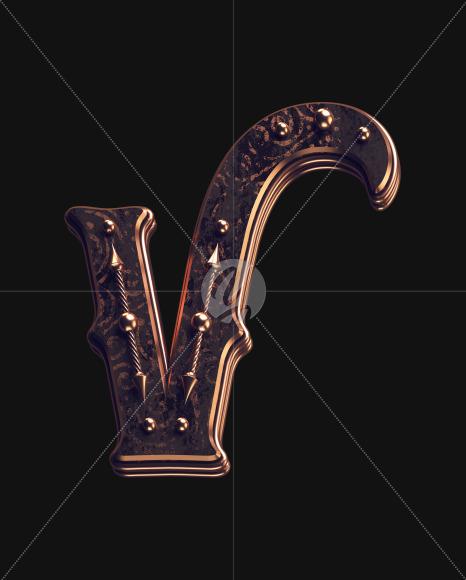 V lowercase 2