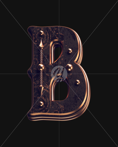 B lowercase