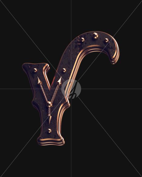 Y lowercase 2