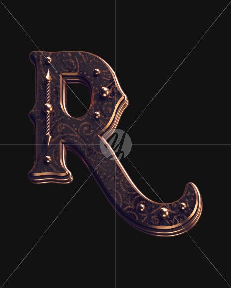 R lowercase 2