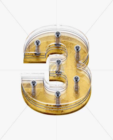 x5-font-number-3
