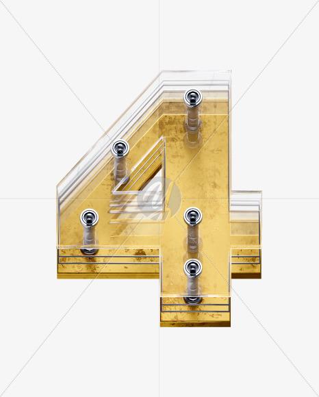 x5-font-number-4