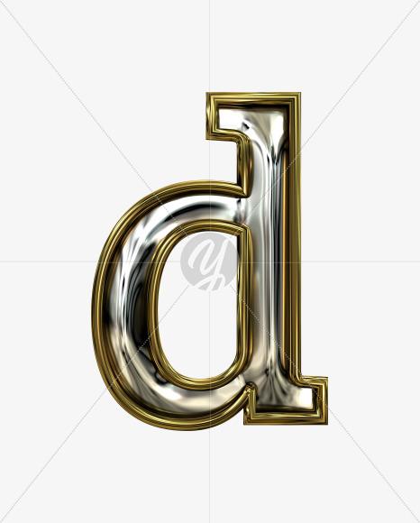d lowercase