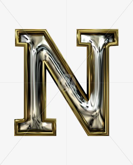 N uppercase