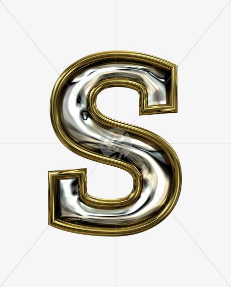 s lowercase