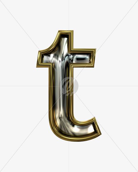 t lowercase