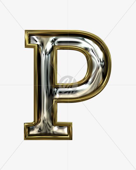 P uppercase