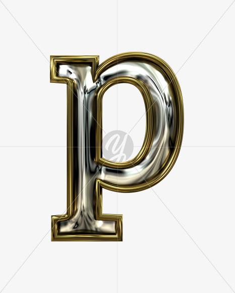 p lowercase