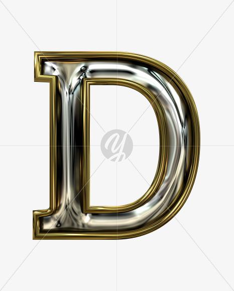 D uppercase