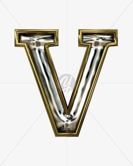 V uppercase