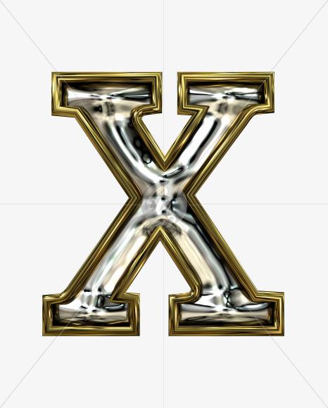 X uppercase