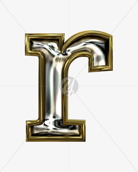 r lowercase