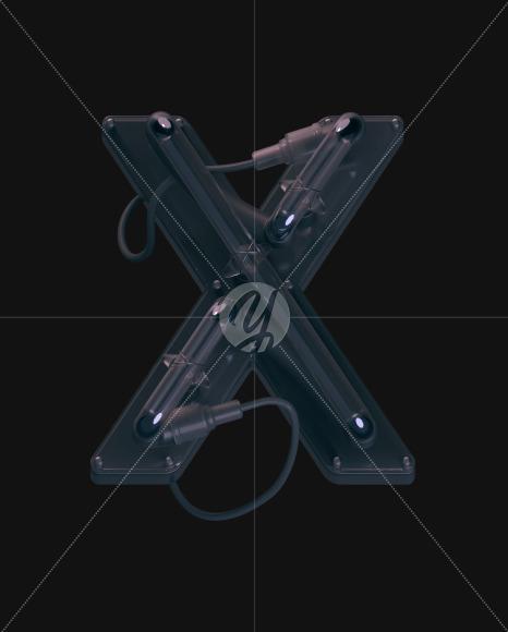 X off