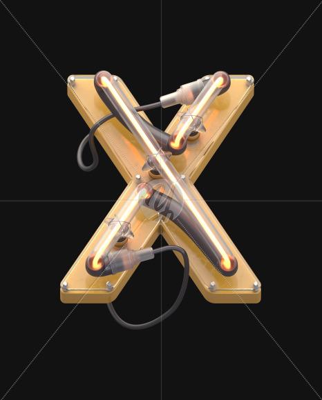 X yellow