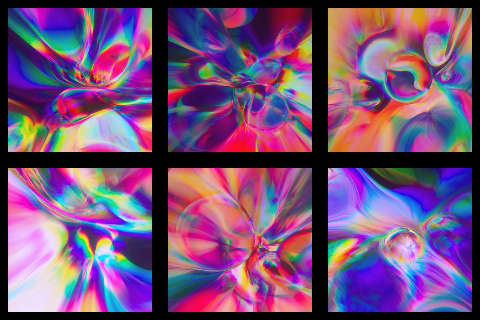 Delirium: Abstract Chromatic Aberration