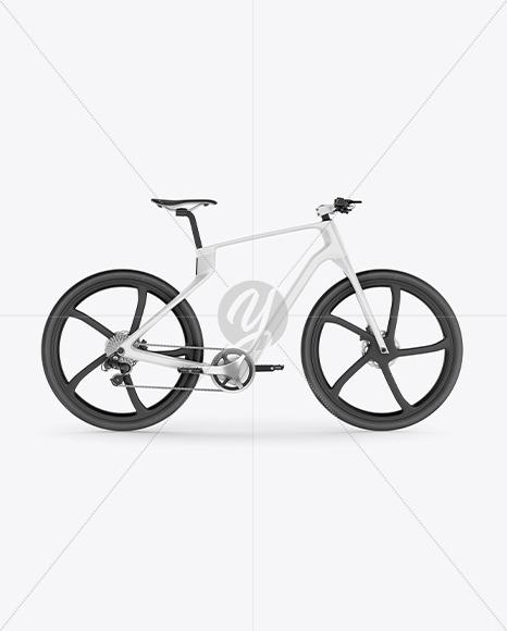 Carbon Electric Road Bike Mockup - Yellowimages Mockups
