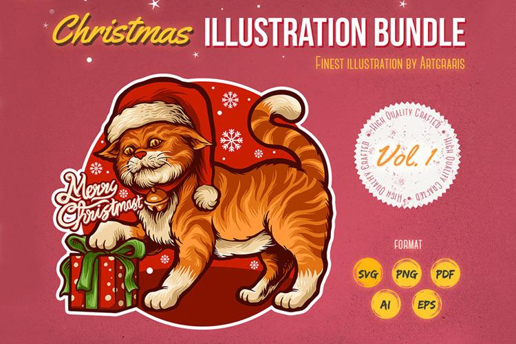 Christmas Animals Bundle Set
