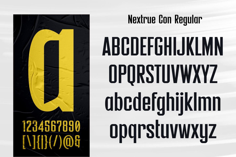 Nextrue Fonts Family