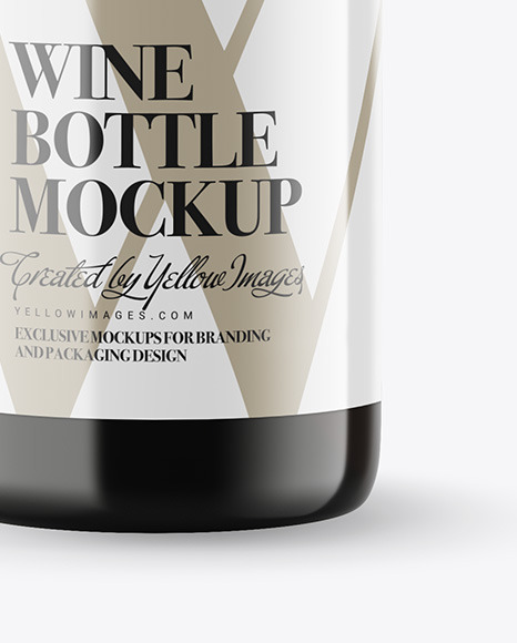 Free Green Bottle Mockups