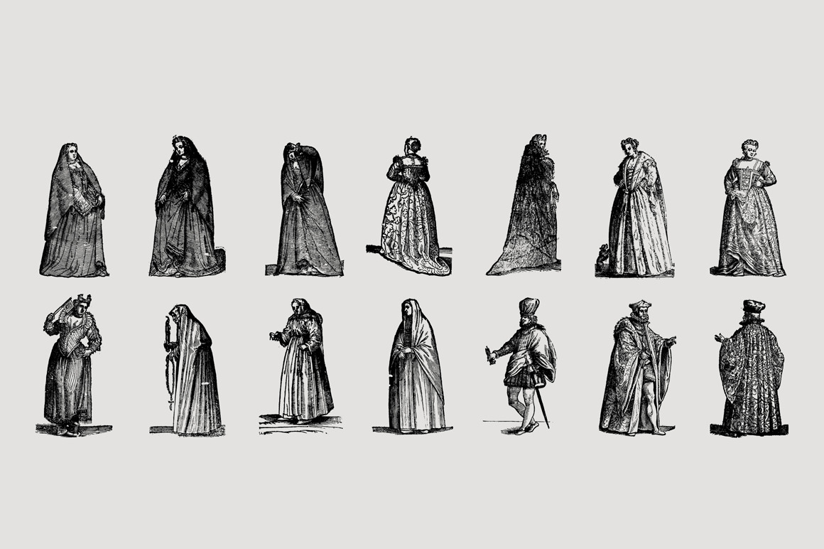 History of Fashion - Vol.1