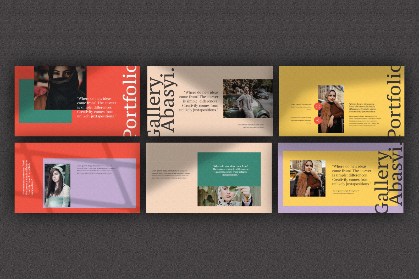 Abasyi Powerpoint Template