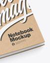 Kraft Notebook Mockup