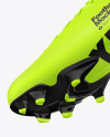 Football Cleat Mockup - Bottom View