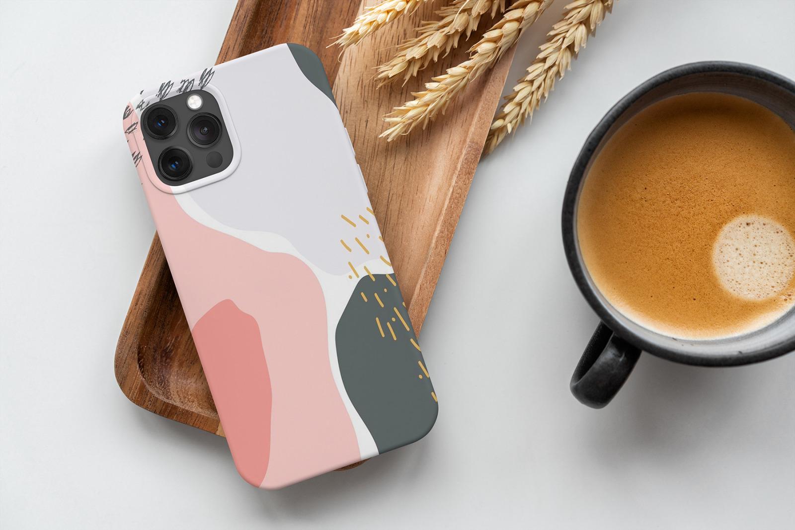 iPhone 12/Pro White Case Mock-Up's