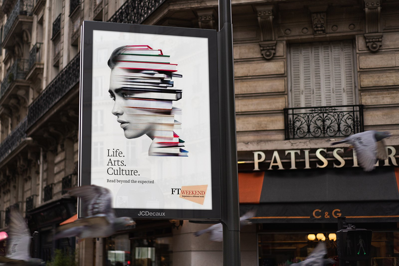 Europe Advertising Mock-Up's