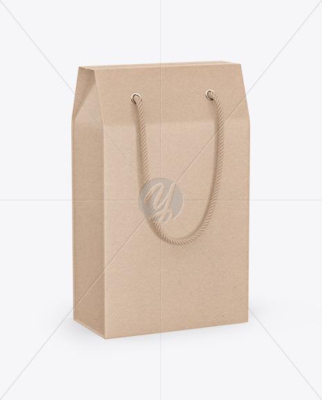 Kraft Packaging Box Mockup