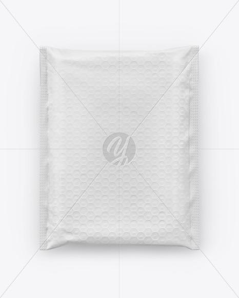 Paper Postage Bag Mockup