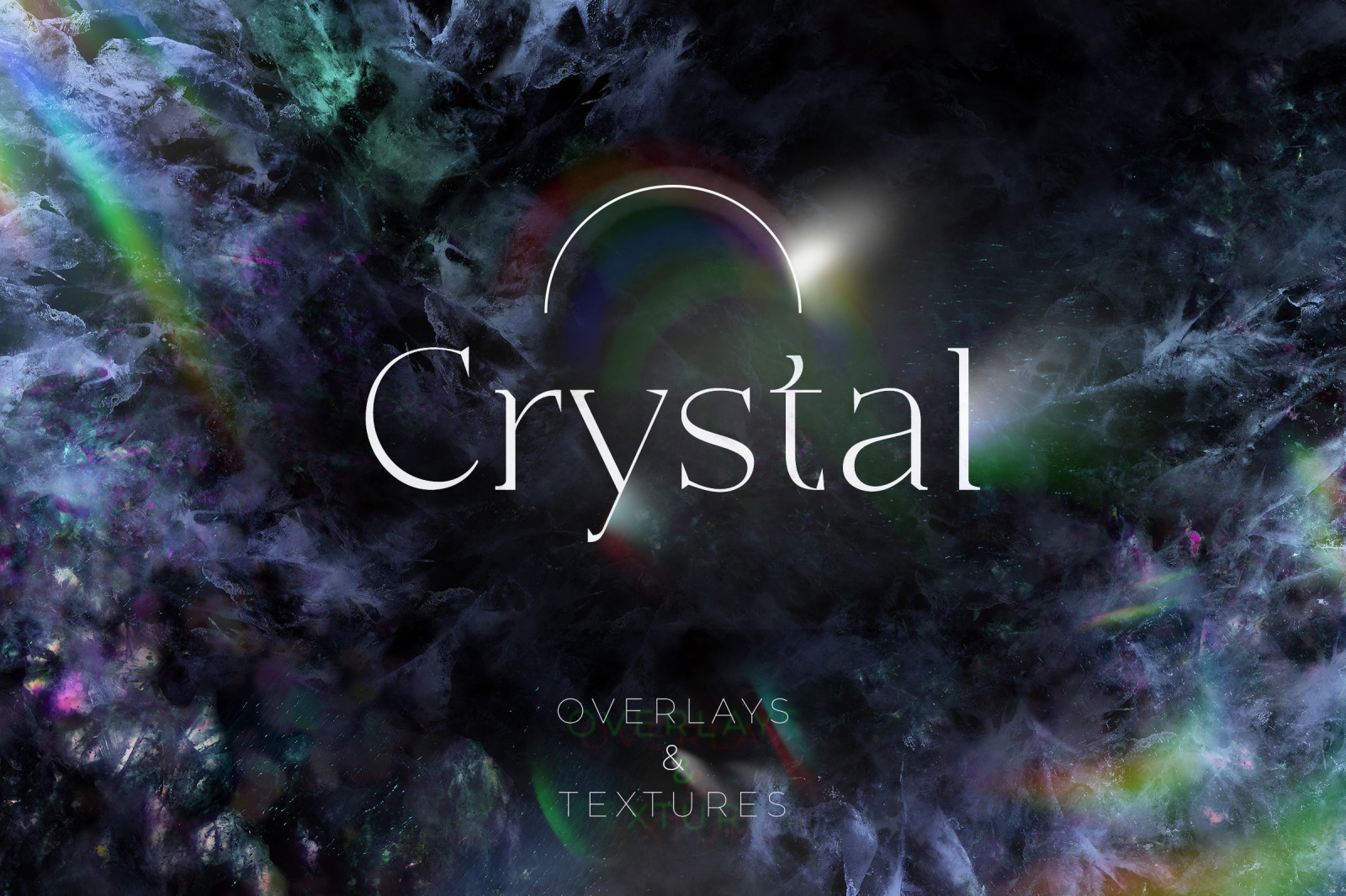 Crystal Overlays and Textures