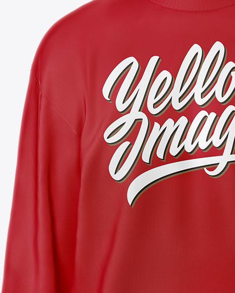 Sweatshirt Mockup with Hanger - Front View